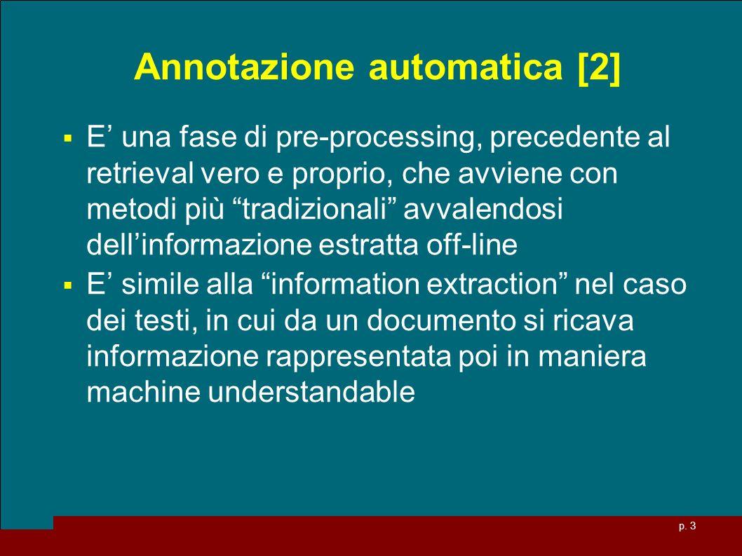 Annotazione automatica [2]